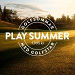 GolfStar lanserar PLAY SUMMER!
